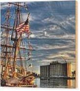 012 Uss Niagara 1813 Series Wood Print