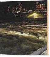 013 Niagara Falls Usa Rapids Series Wood Print