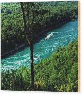 013 Niagara Gorge Trail Series  Wood Print