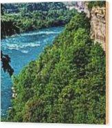 014 Niagara Gorge Trail Series  Wood Print