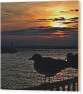 015 Sunset Series Wood Print