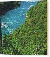 017 Niagara Gorge Trail Series  Wood Print