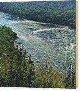 018 Niagara Gorge Trail Series  Wood Print