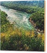 019 Niagara Gorge Trail Series  Wood Print
