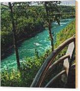 020 Niagara Gorge Trail Series  Wood Print