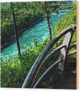 021 Niagara Gorge Trail Series  Wood Print