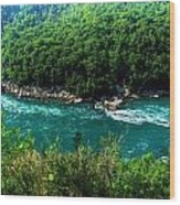 022 Niagara Gorge Trail Series  Wood Print