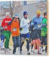 022 Shamrock Run Series Wood Print