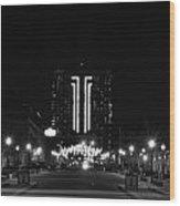 03 Seneca Niagara Casino Wood Print