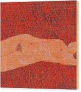 0358 Figurative Art Wood Print