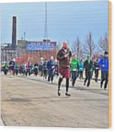 037 Shamrock Run Series Wood Print