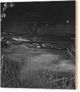 04 Niagara Falls Usa Rapids Series Wood Print