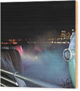 04 Niagara Falls Usa Series Wood Print
