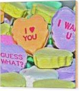 04 Valentines Series Wood Print