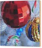 05 Christmas Card Wood Print