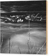 05 Niagara Falls Usa Rapids Series Wood Print