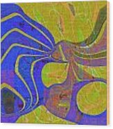 0565 Abstract Thought Wood Print