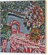 06 Christmas Cards Wood Print
