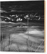 06 Niagara Falls Usa Rapids Series Wood Print