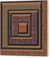 0622 Abstract Thought Wood Print