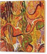 0625 Abstract Thought Wood Print