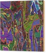 0661 Abstract Thought Wood Print