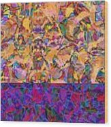 0672 Abstract Thought Wood Print