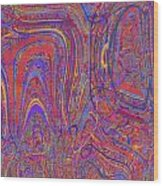 0708 Abstract Thought Wood Print