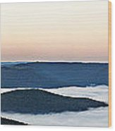 0710-0037 Sunrise At Firetower Road Wood Print by Randy Forrester