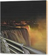08 Niagara Falls Usa Series Wood Print