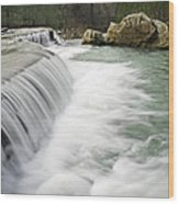 0804-0012 Six Finger Falls 1 Wood Print by Randy Forrester