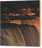 01 Niagara Falls Usa Series Wood Print