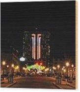 01 Seneca Niagara Casino Wood Print
