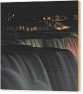 010 Niagara Falls Usa Series Wood Print