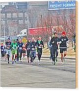 013 Shamrock Run Series Wood Print