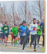 020 Shamrock Run Series Wood Print