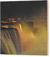 07 Niagara Falls Usa Series Wood Print