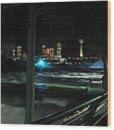 09 Niagara Falls Usa Rapids Series Wood Print