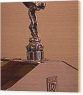 1930 Rolls-royce Phantom 1 Trouville Town Car Wood Print