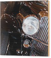 1931 Duesenberg Sj Derham Convertible Sedan Wood Print