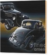 1934 Ford Coupe Wood Print