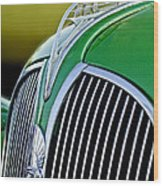 1937 Plymouth Hood Ornament Wood Print