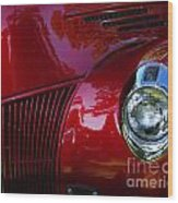 1941 Ford Truck Nose Wood Print