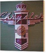 1942 Chrysler Royal Business Coupe Wood Print