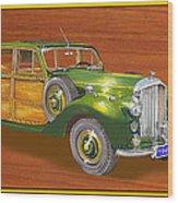 1947 Bentley Shooting Brake Wood Print