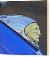 1948 Indian Chief Motorcycle Wood Print