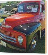 1950 International L-100 Wood Print