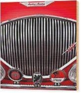 1955 Austin Healey 100-4 Wood Print