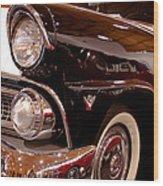 1955 Ford Fairlane Crown Victoria 2-door Hardtop Wood Print