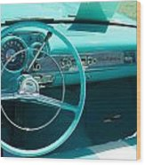1957 Chevy Convertable Wood Print